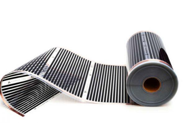 Инфракрасный пленочный теплый пол Q-Term 305 ширина 0,5 метра мощность 150 ватт.